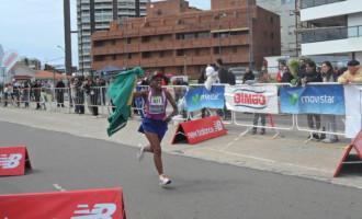 Maratona: Marli Matias fica em terceiro lugar no Uruguai