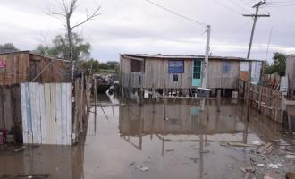 Esforços concentrados para conter os danos das Chuvas