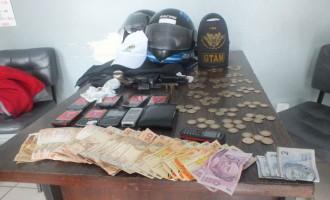 VIOLÊNCIA: Dois presos em assalto à loja no Centro