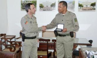 Comandante da Brigada Militar do Capão do Leão recebe homenagem
