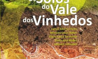 Livro detalhando os solos do Vale dos Vinhedos  será lançado dia 13