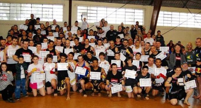 Luta: Muay Thai em destaque na Região Sul