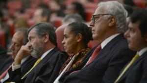 A REDE de Marina Silva (centro) por enquanto segue sendo um sonho