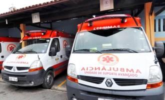 Zona Sul ganha quatro novas ambulâncias para o Samu