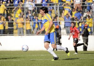Bruno Coutinho é aguardado por todos os áureo-cerúleos no sábado FOTO:  Arquivo/Alisson Assumpção/DM