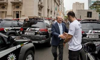 Governo do Estado entrega 171 novas viaturas para a Polícia Civil, Susepe e IGP