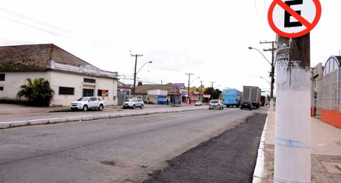 Alterado o estacionamento na avenida Fernando Osório