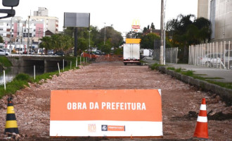 Iniciam obras de pavimentação do prolongamento da Bento