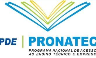 Pronatec recebe inscrições na próxima quarta