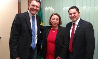 Vereador Rafael Amaral e deputado Afonso Hamm tratam de novas emendas para Pelotas