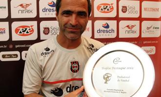 Rogério Zimmermann recebe prêmio
