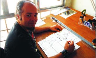 Sandro Andrade lança 'zine'