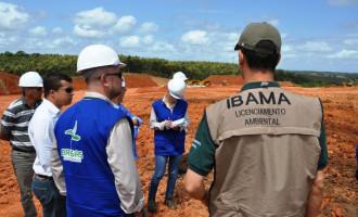 IBAMA realiza vistoria em áreas de apoio da BR-116/RS