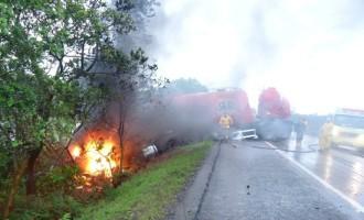 Plantão de Polícia: Acidente da BR- 116 faz uma vítima fatal