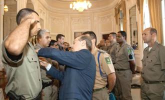 Estado promove 1.188 policiais da Brigada Militar