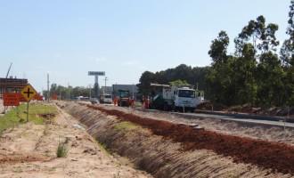 Tráfego de veículos será desviado na BR-116 próximo ao acesso à Avenida 25 de Julho