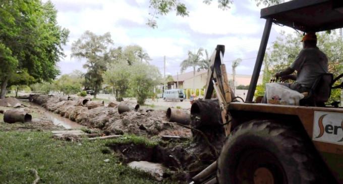 Prefeitura deve concluir esta semana obras de drenagem na praia