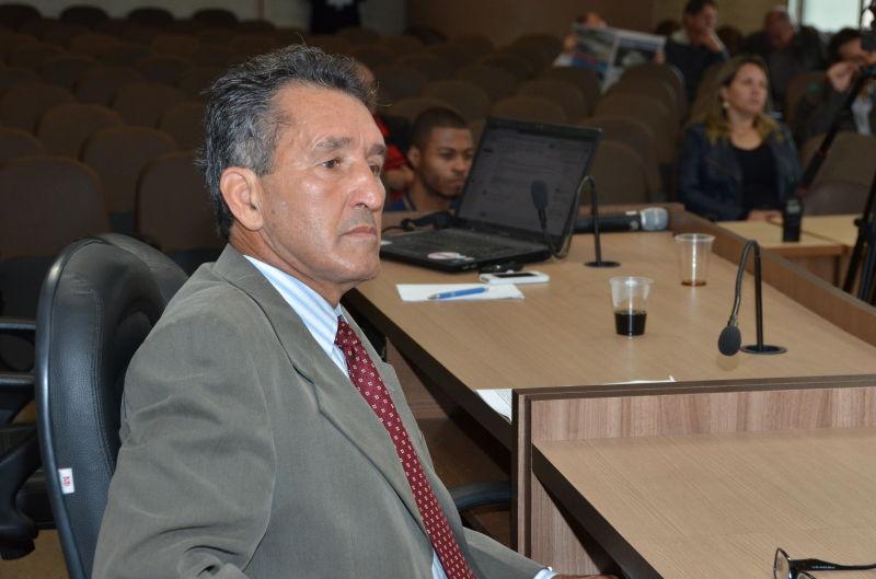 Vereador Edmar Campos quer esclarecer situação de abandono Foto: Pacheco