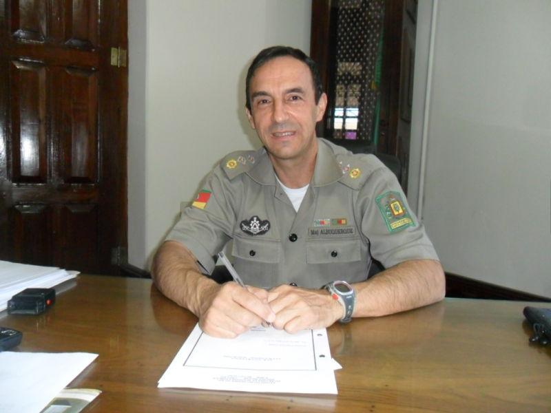 Enilton ingressou no quadro de oficiais da BM na década de 90