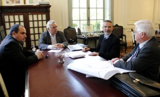 Vereador Antonio Peres e Beto Grill discutem questão fundiária de Pelotas