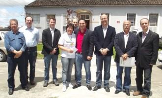 Vereador Rafael Amaral visita Núcleo Ambulatorial do Hospital Universitário São Francisco de Paula