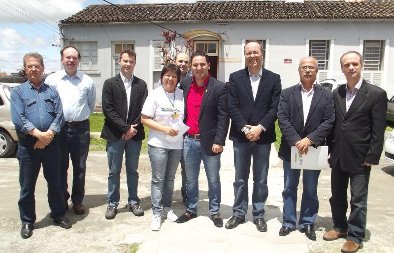 Rafael colocou-se a disposição para construir estratégias de qualificação e melhoramento da infraestrutura para atendimento aos pacientes