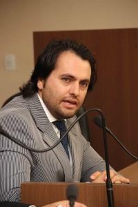 Vereador Vitor Paladini solicitou ao coordenador um relatório geral de dados - Foto: Jonathan Silva
