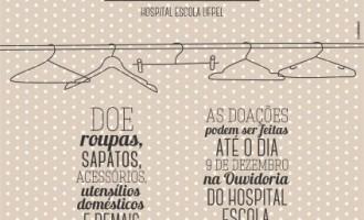 Hospital Escola solicita doações para Brechó Solidário