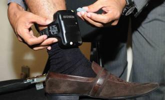 Uso de tornozeleira eletrônica reduz em 97% fugas do semiaberto