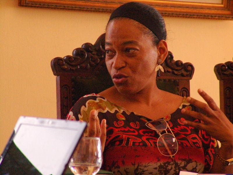 Os moçambicanos vieram da Universidade Eduardo Mondlane