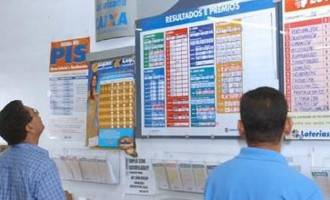 Apostador ganhou 525 vezes na loteria. Outro recebeu 107 prêmios no mesmo dia