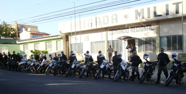 Brigada Curso Tático de Motocicletas 01