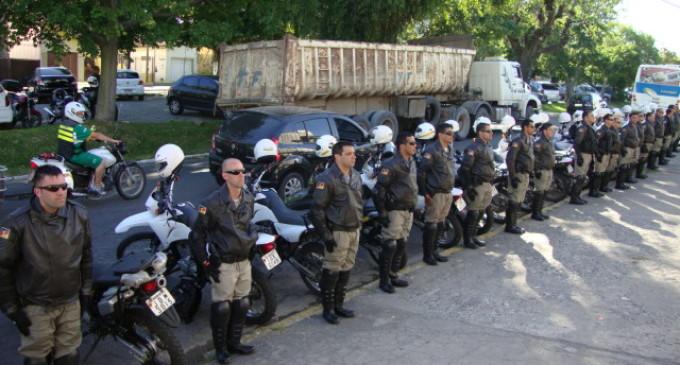 Brigada Militar realiza Curso Tático de Motocicletas