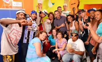 Centro Pop realiza festa de Natal