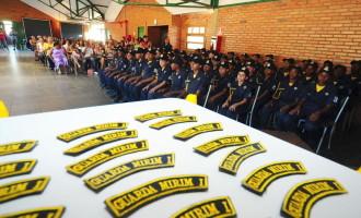 Guarda Mirim realiza formatura de 75 novos guardas