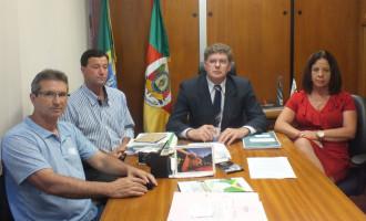 Härter recebe comitiva de Pedro Osório para tratar de auxílio à Santa Casa