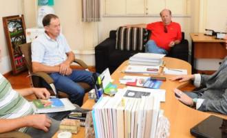 Prefeitura e Sul Ecológica discutem instalação da Cooperativa