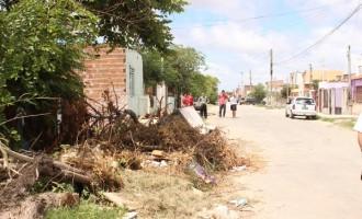 Sujeira e lixo acumulado preocupam vereador Toninho