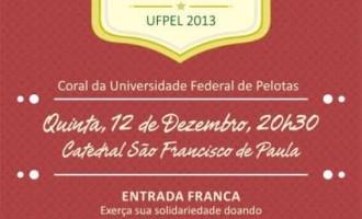 Coral da UFPel realiza Concerto de Natal hoje