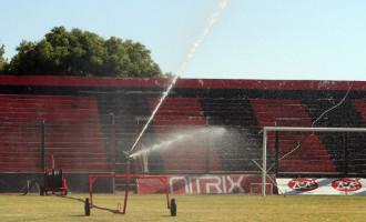 Estádio do Bento Freitas adquire um moderno sistema de irrigação para o gramado da Baixada