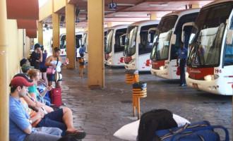 Natal e Ano Novo: Mais de 90 ônibus extras no Terminal Rodoviário