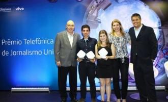 Etapa nacional do Prêmio Telefônica Vivo de Jornalismo Universitário fica com a UCPel