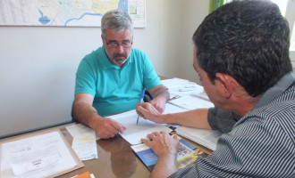 Ricardo Santos pede reparos na Estrada do Contorno