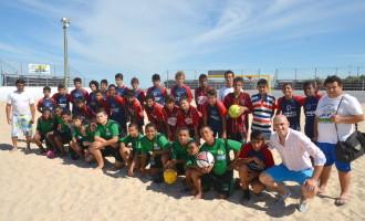 Crianças de projetos sociais competem na Arena de Esportes