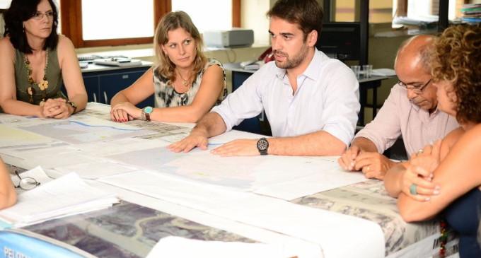 Gestores estudam projeto de ordenamento do espaço público