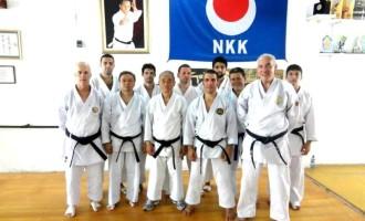Professores de Pelotas marcam presença em Encontro Nacional de Karate