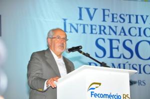 Secretário de Estado da Cultura Luiz Antônio de Assis Brasil