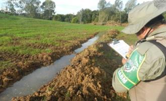 Comando Ambiental da Brigada Militar investiga denúncia de poluição