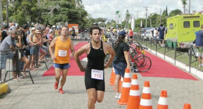 Triathlon é atração na praia neste fim de semana
