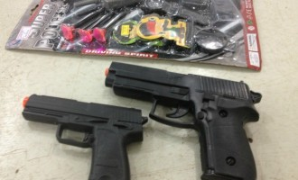Venda de armas de brinquedo está proibida em Pelotas